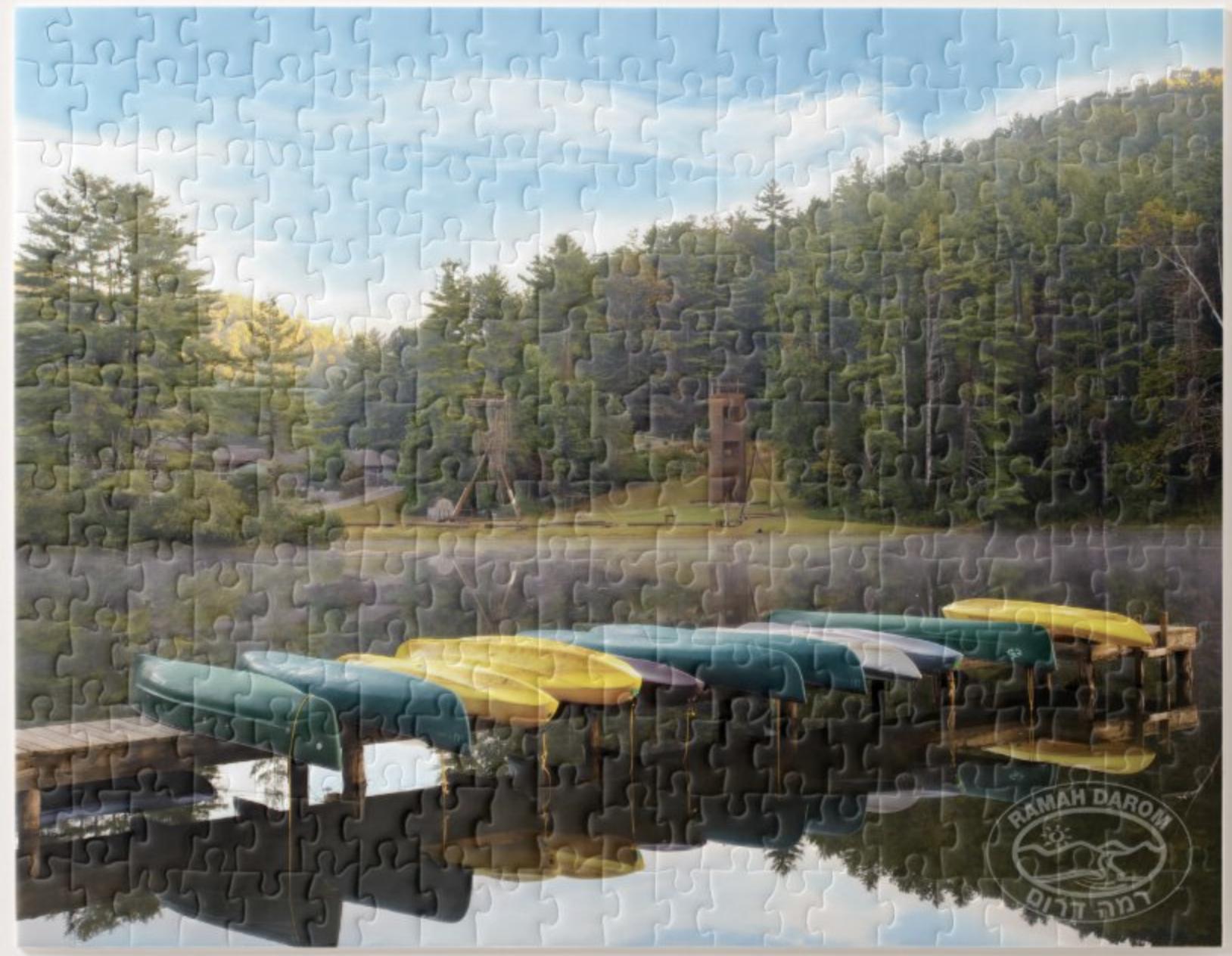 Puzzle kayak
